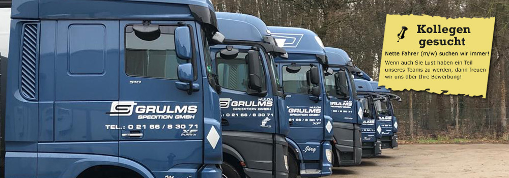 Spedition Grulms LKW Transporte